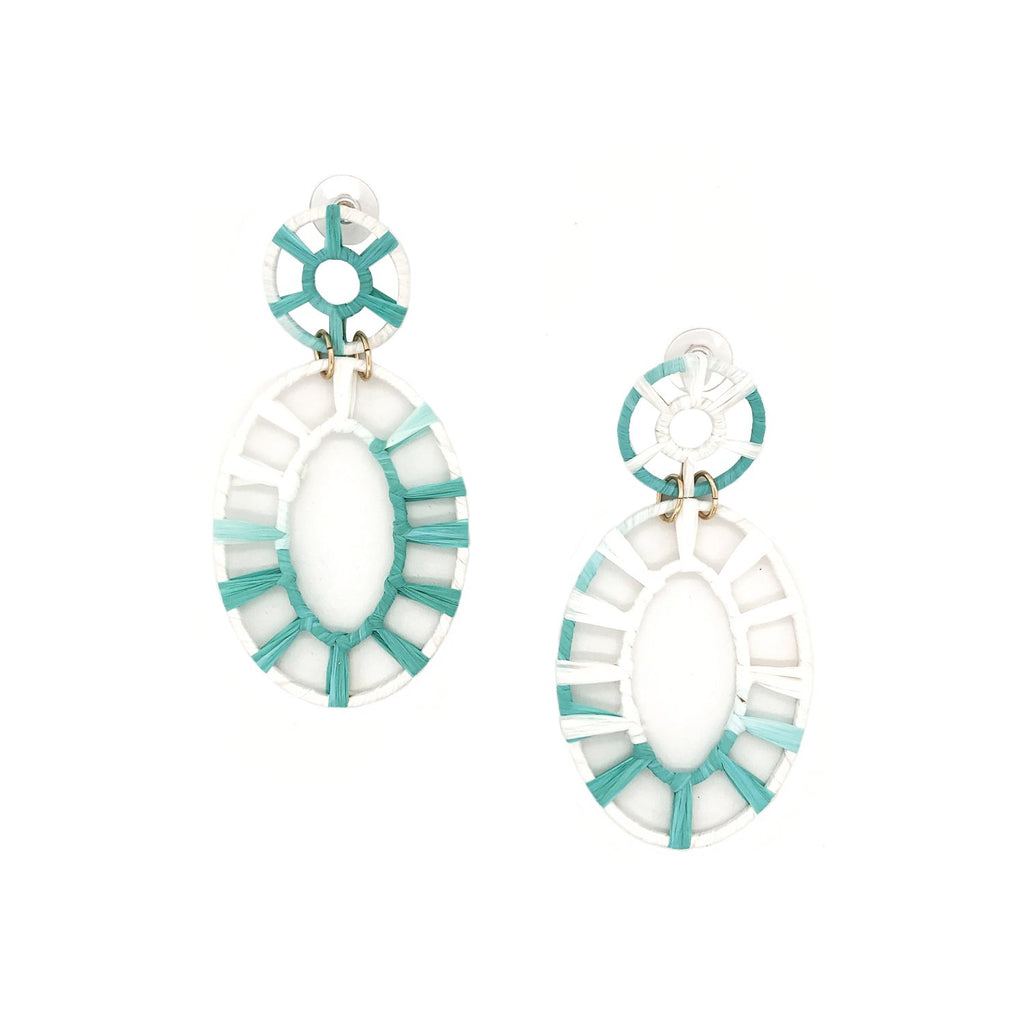 SALE Ombre Turquoise Drop Earrings