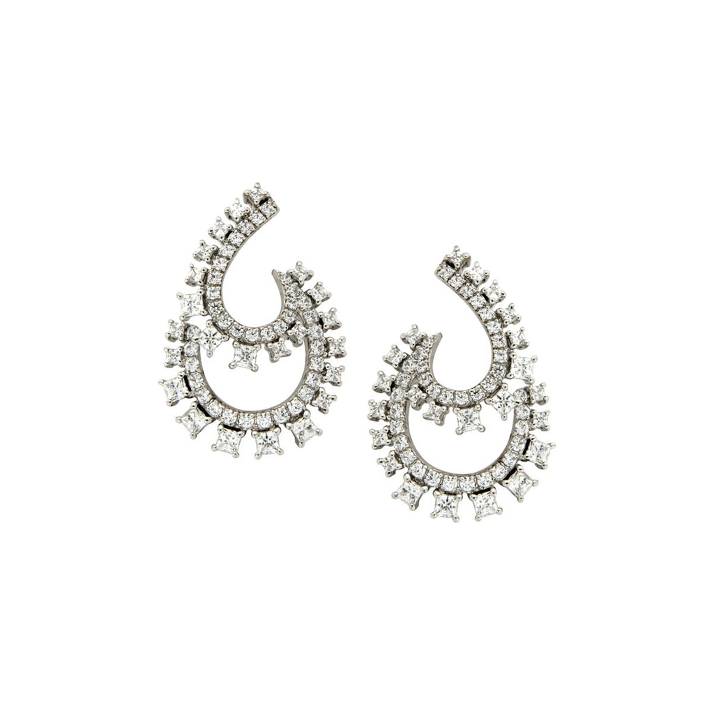 SALE Double Loop Earrings