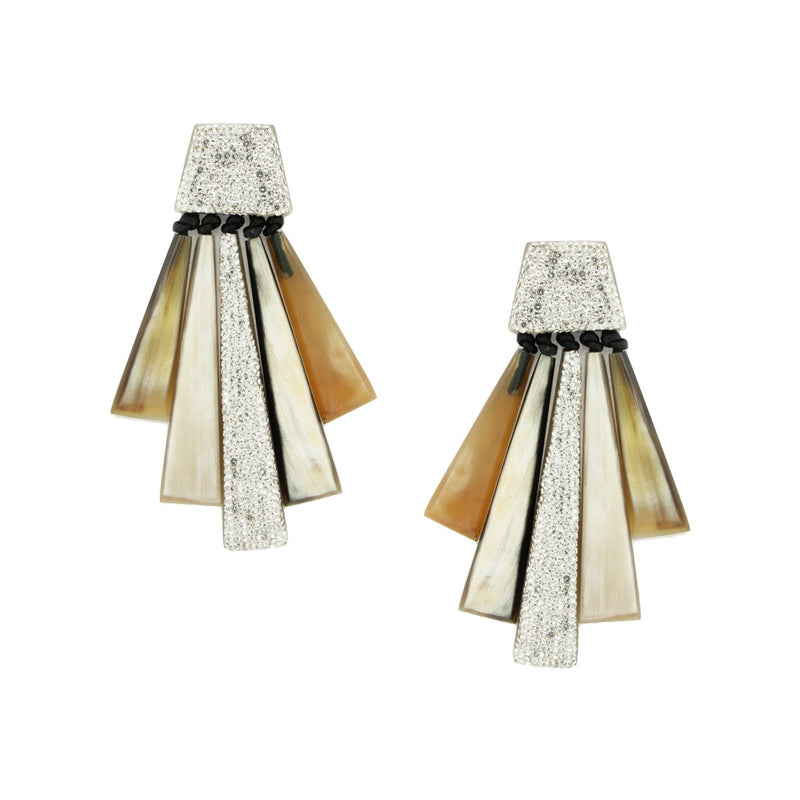 SALE Baguette Drop Earrings