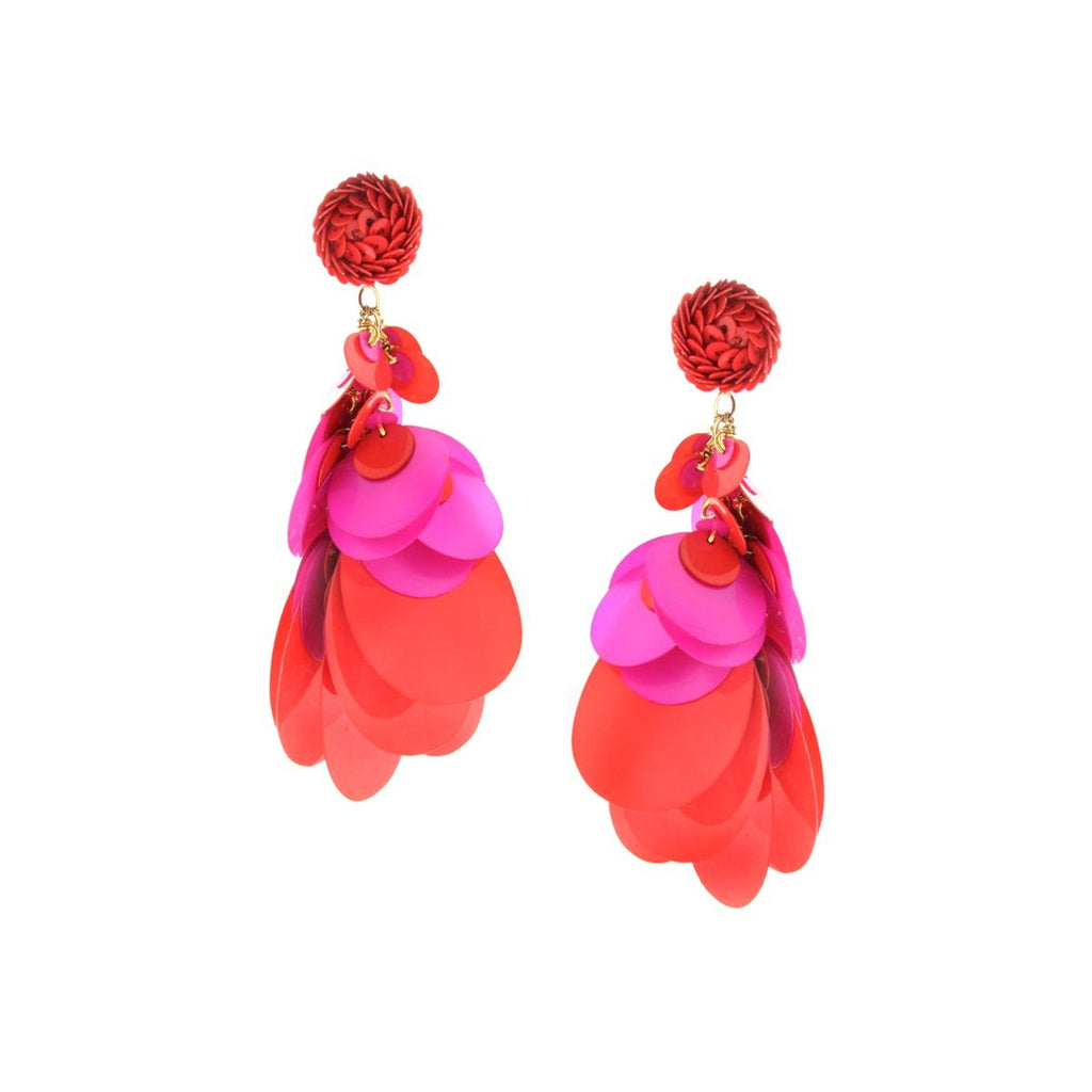 SALE Sequin Cascade Earrings