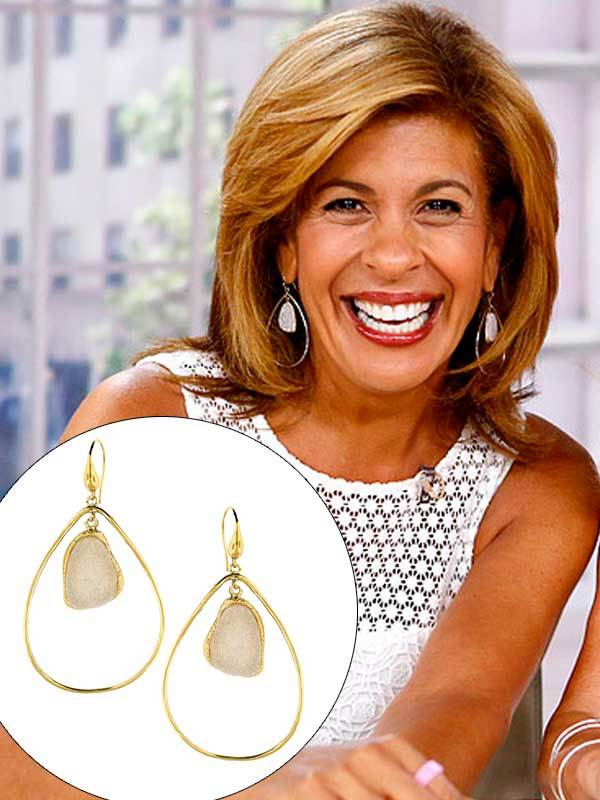 Geometric Drop Earrings