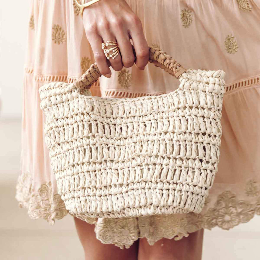 Mini Straw Handbag