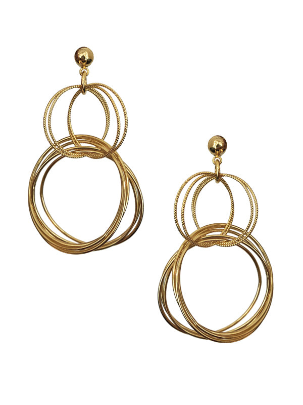 Multi Circle Earrings