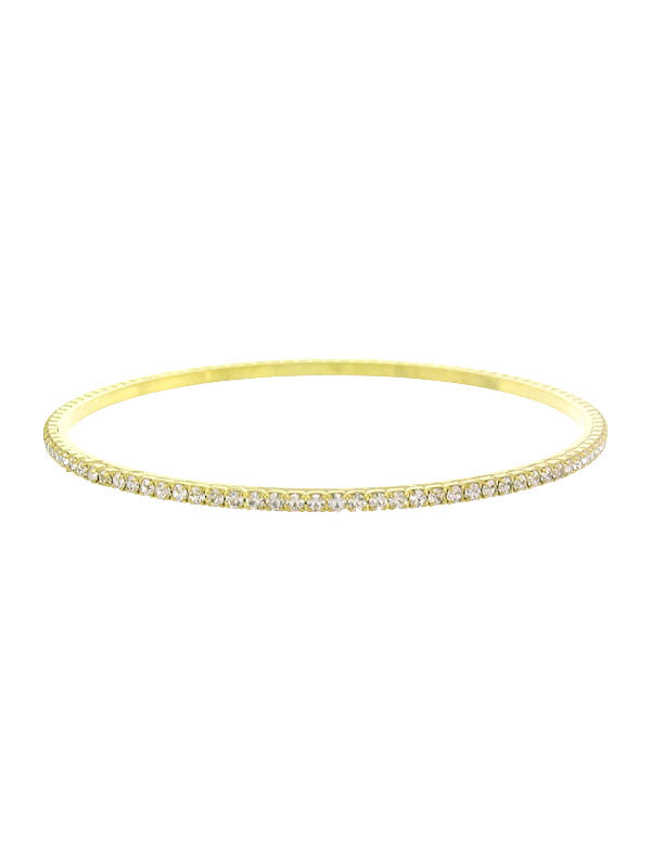 Faux Diamond Bangle