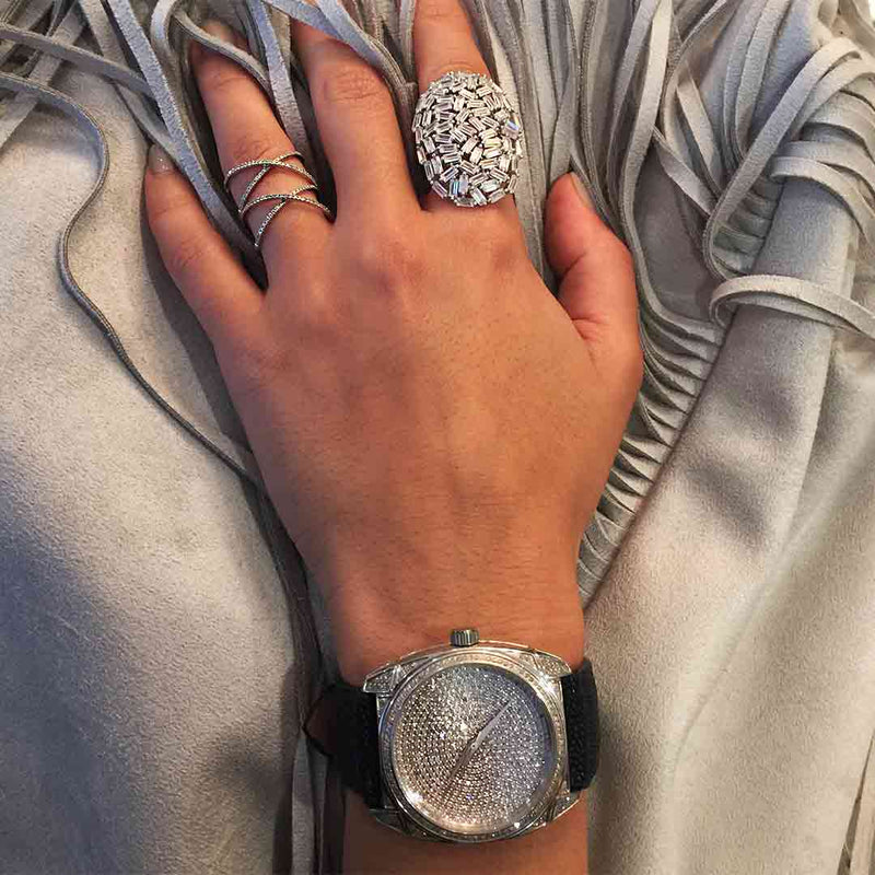 White Diamond Watch