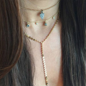 Mini Charm Choker Necklace