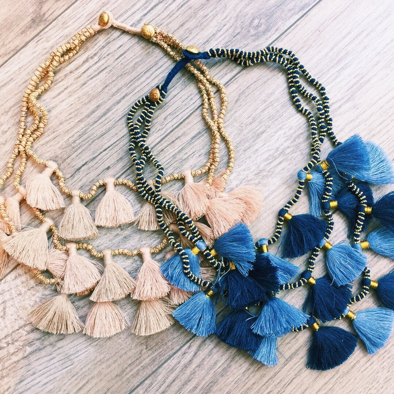 Layered Tassel Necklace