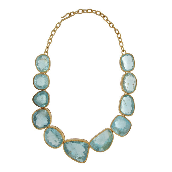 Topaz Blue Necklace