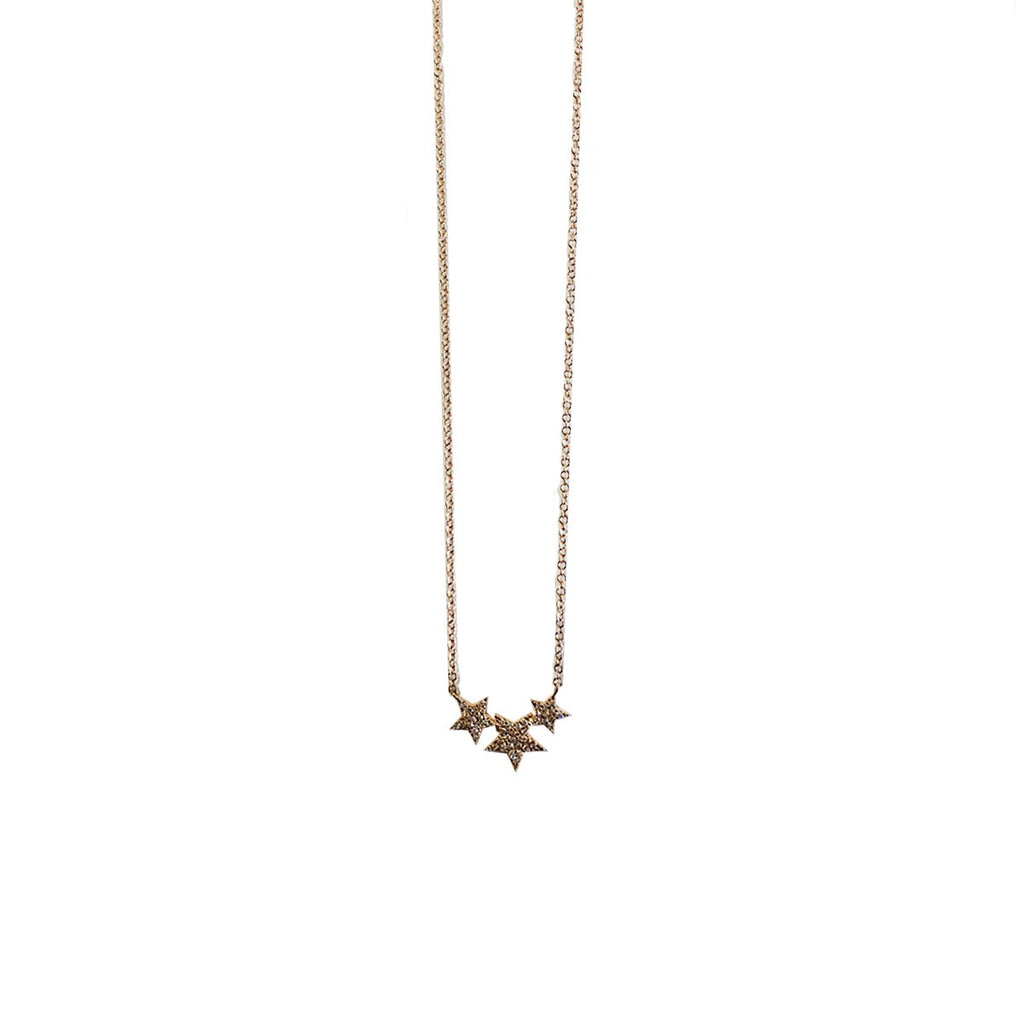 Diamond Stars Necklace