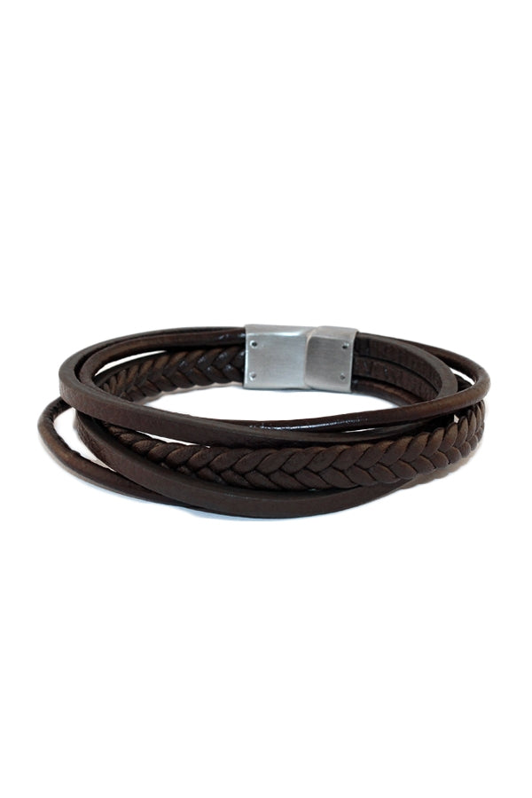 Leather Men's Bracelet