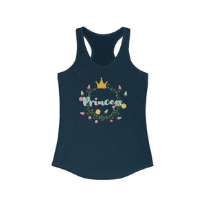 Princess - Women's Ideal Racerback Tank by Dray-A