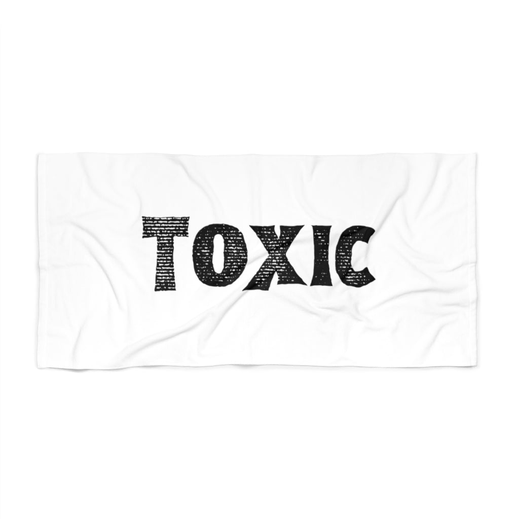 Toxic - Beach Towel by Dray-A