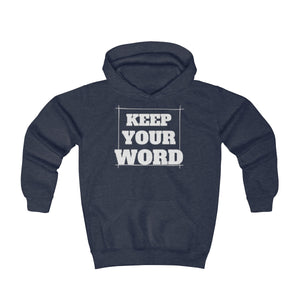 Keep your word - Youth Hoodie by Dray-A