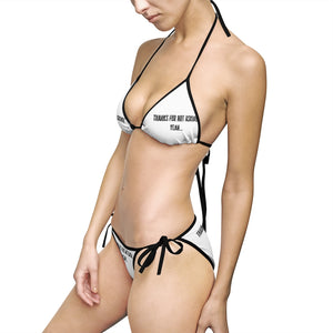 Thanks for not asking, yeah... - Women's Bikini Swimsuit by Dray-A