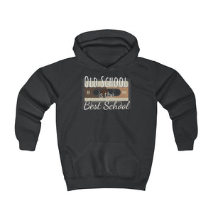 Old school is the best school - Youth Hoodie by Dray-A