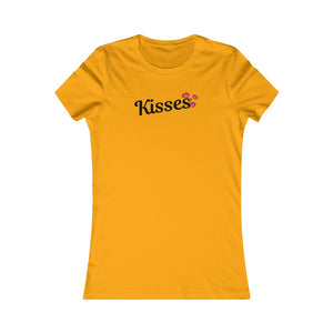 Kisses - Women's Favorite Tee by Dray-A