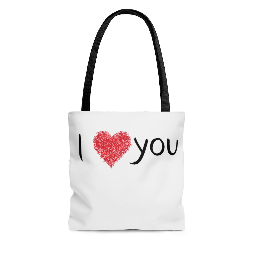 I ❤️ You - AOP Tote Bag by Dray-A