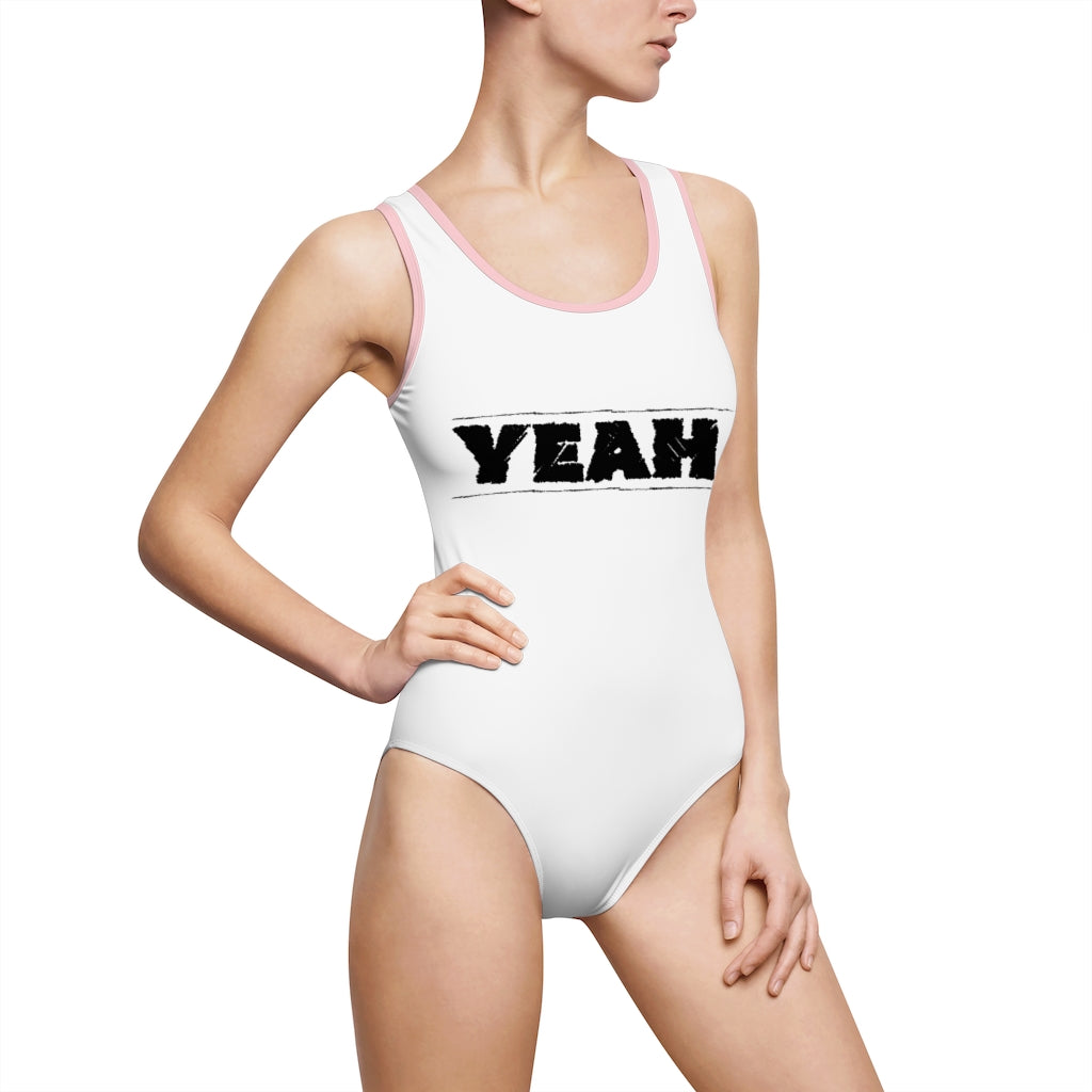 Yeah - Women's Classic One-Piece Swimsuit by Dray-A