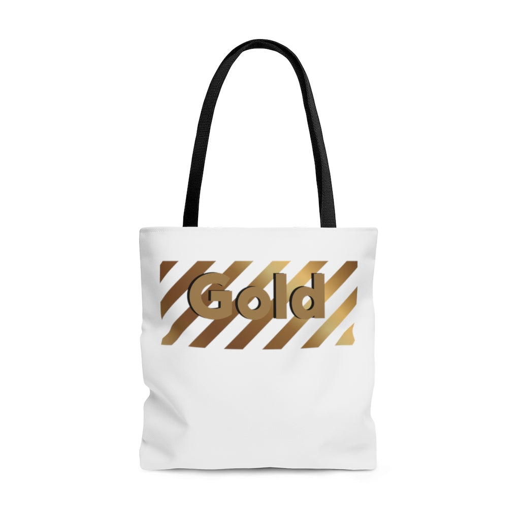 Gold - AOP Tote Bag by Dray-A
