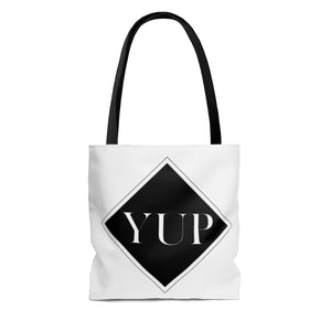 Yup - AOP Tote Bag by Dray-A