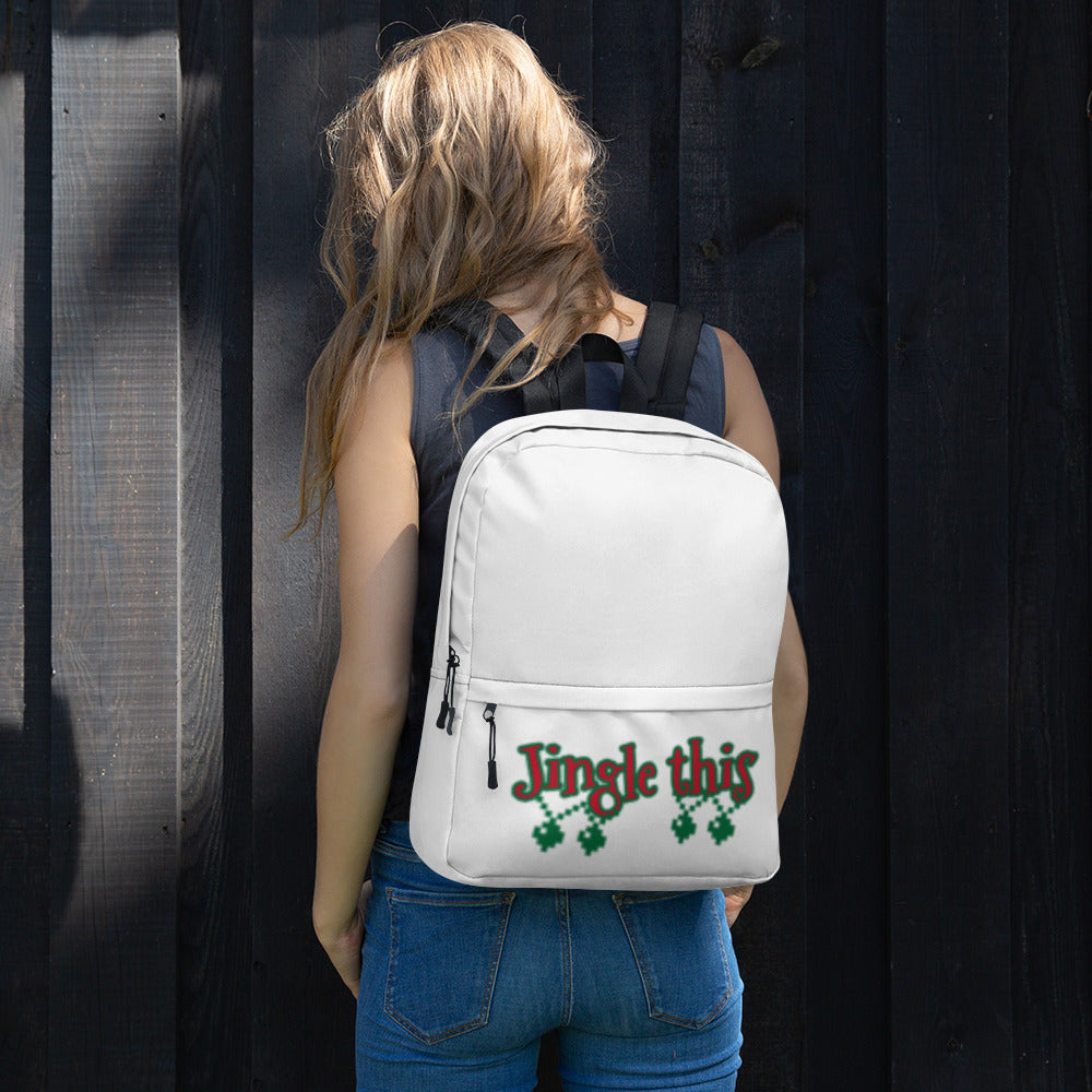 JINGLE THIS - Backpack by Dray-A