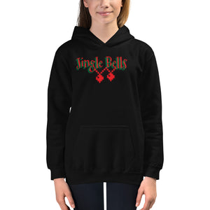 JINGLE BELLS- Kids Hoodie by Dray-A