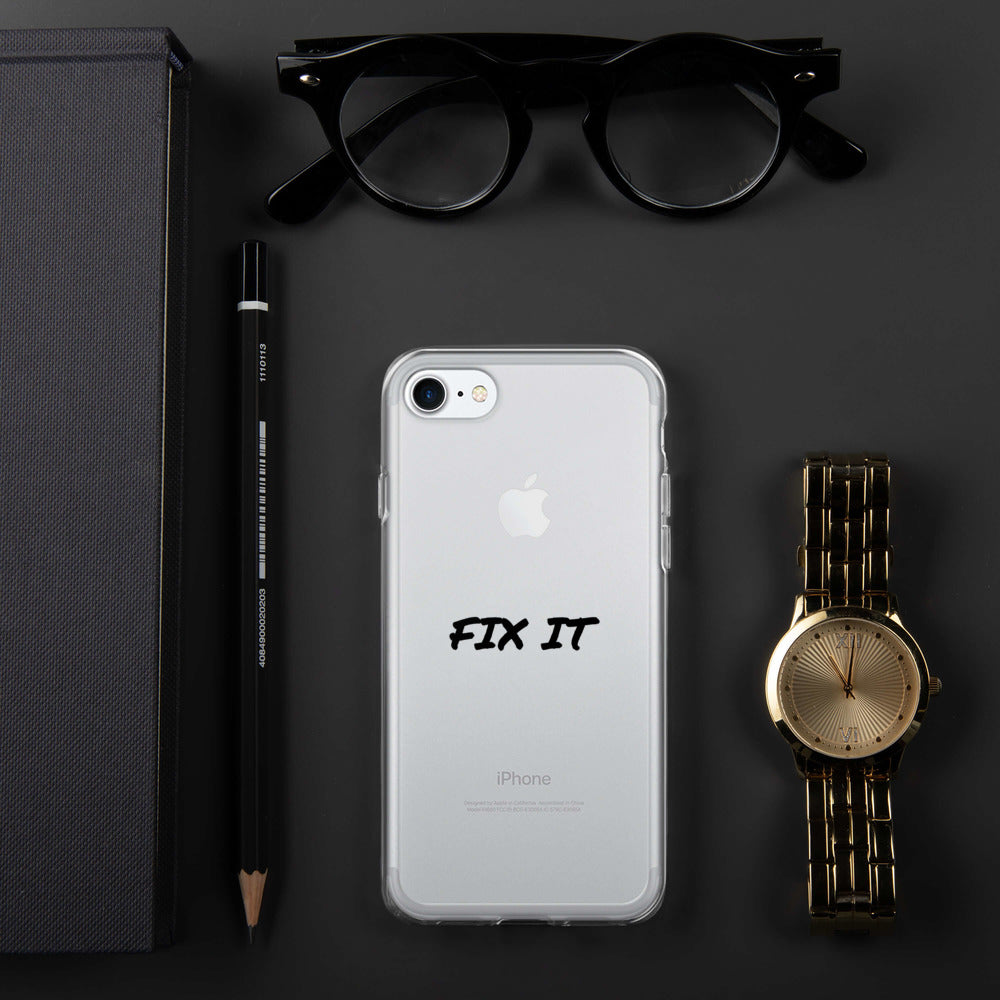 FIX IT - iPhone Case by Dray-A