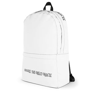 GOOGLE: THE GREAT ORACLE - Backpack by Dray-A