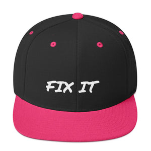 FIX IT - Snapback Hat by Dray-A