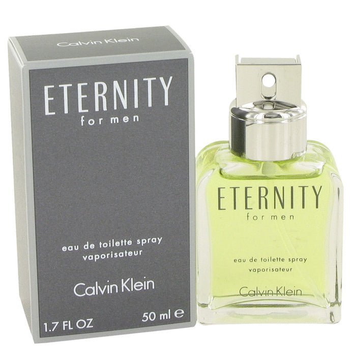 ETERNITY by Calvin Klein Eau De Toilette Spray 1.7 oz for Men