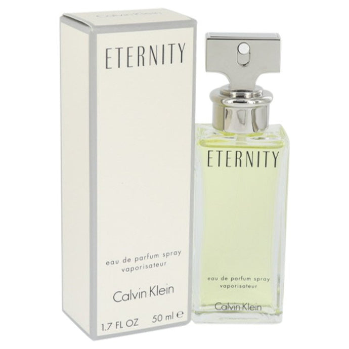 ETERNITY by Calvin Klein Eau De Parfum Spray 1.7 oz for Women