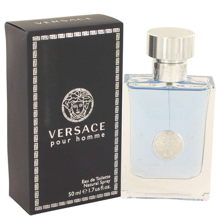 Versace Pour Homme by Versace Eau De Toilette Spray 1.7 oz for Men