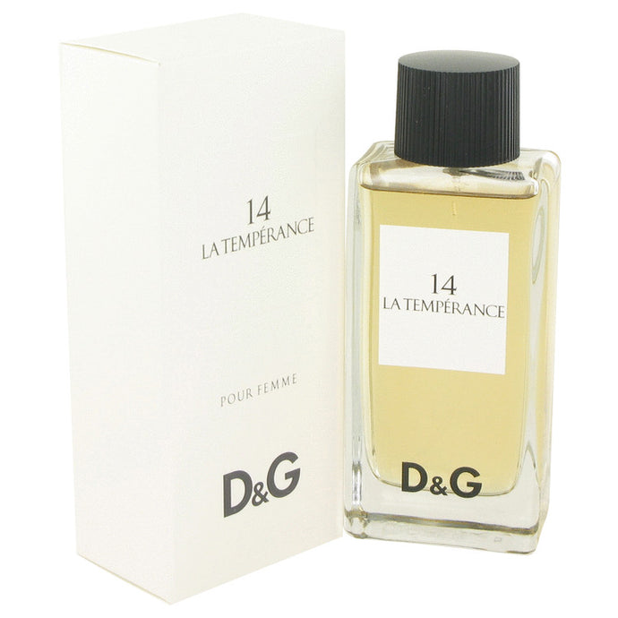 La Temperance 14 by Dolce & Gabbana Eau De Toilette Spray 3.3 oz for Women