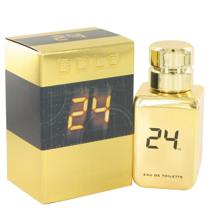 24 Gold The Fragrance by ScentStory Eau De Toilette Spray 1.7 oz for Men