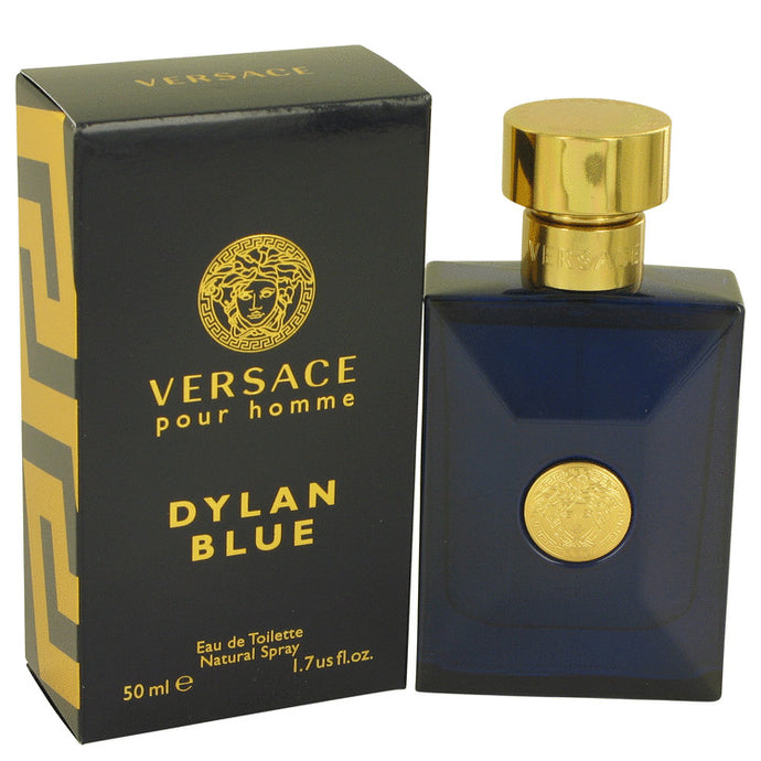Versace Pour Homme Dylan Blue by Versace Eau De Toilette Spray 1.7 oz for Men