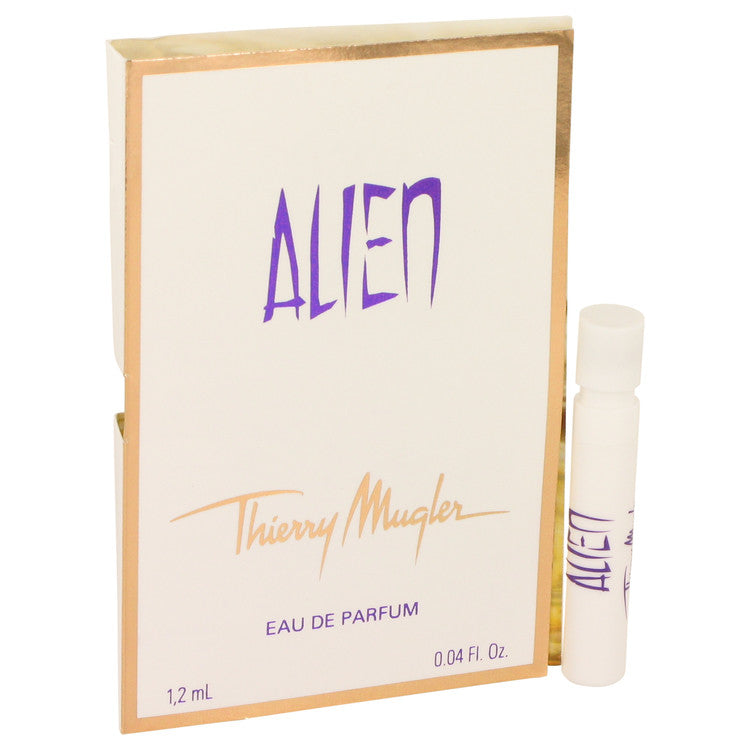 Alien by Thierry Mugler Vial EDP Spray (sample on card) .04 oz for Women
