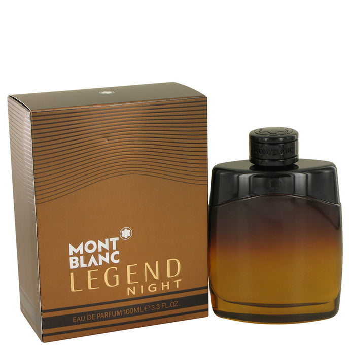 Montblanc Legend Night by Mont Blanc Eau De Parfum Spray 3.3 oz for Men