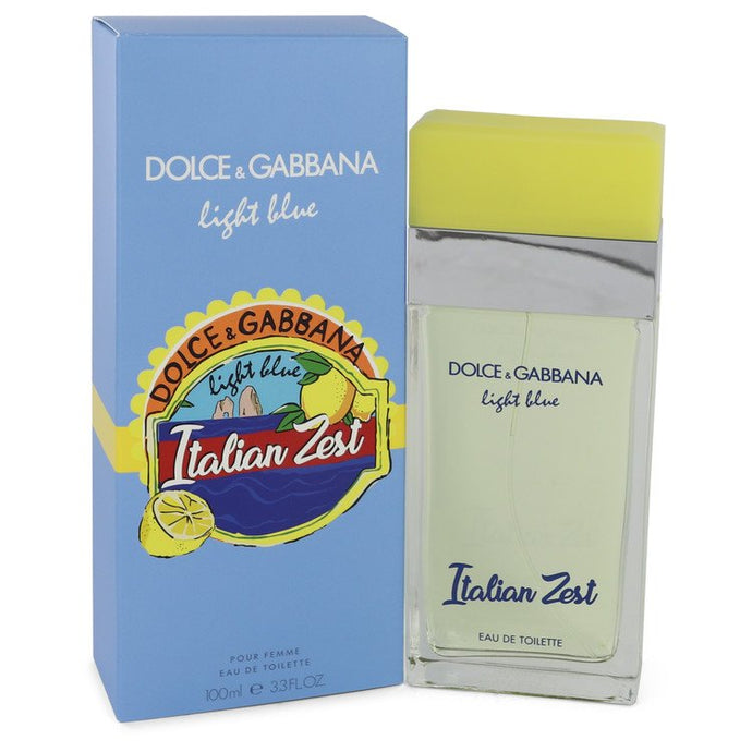 Light Blue Italian Zest by Dolce & Gabbana Eau De Toilette Spray 3.4 oz for Women