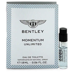 Bentley Momentum Unlimited by Bentley Vial (Sample) .06 oz for Men