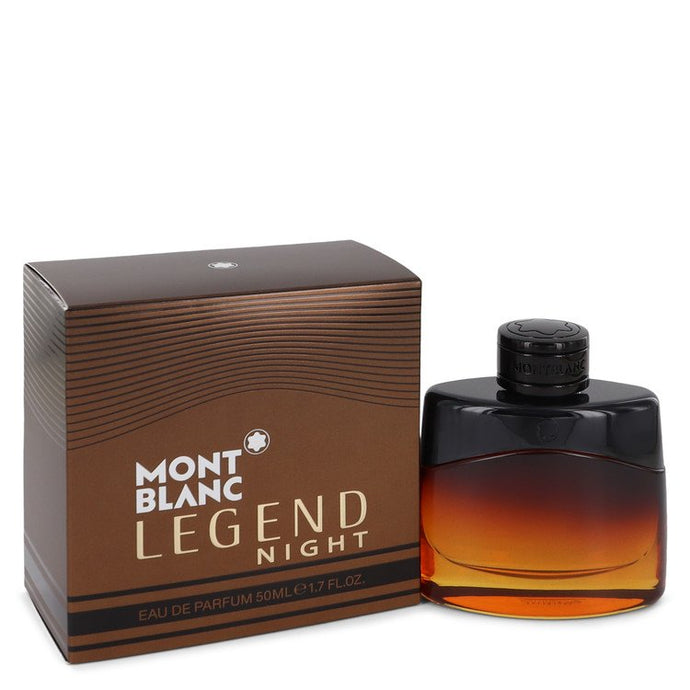 Montblanc Legend Night by Mont Blanc Eau De Parfum Spray 1.7 oz for Men