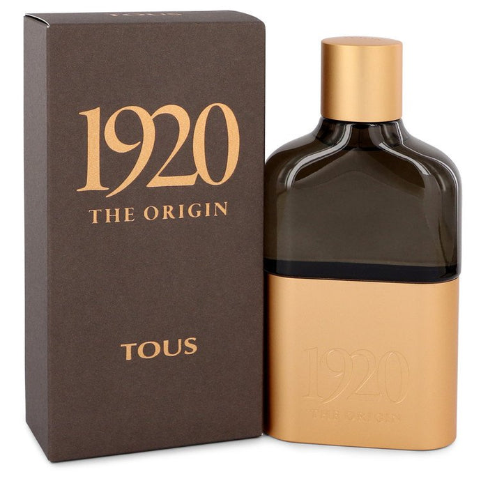 Tous 1920 The Origin by Tous Eau De Parfum Spray 3.4 oz for Men
