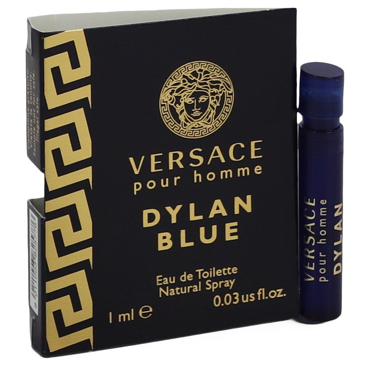 Versace Pour Homme Dylan Blue by Versace Vial (sample) .03 oz for Men