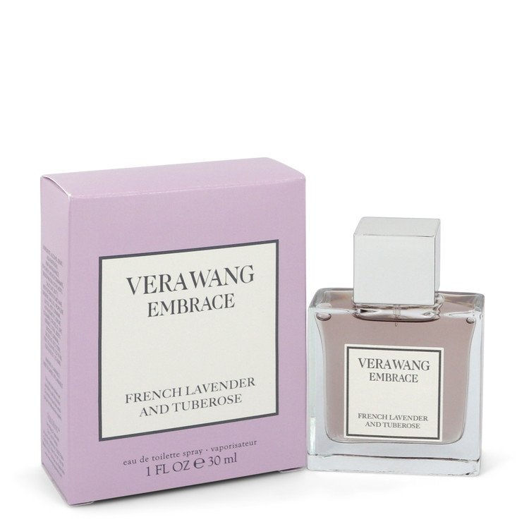 Vera Wang Embrace French Lavender and Tuberose by Vera Wang Eau De Toilette Spray 1 oz for Women