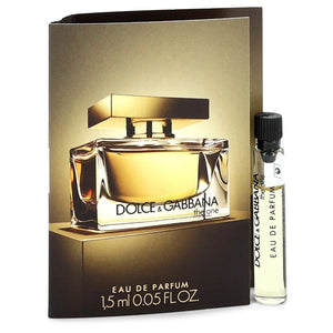The One by Dolce & Gabbana Vial (sample) .05 oz  for Women