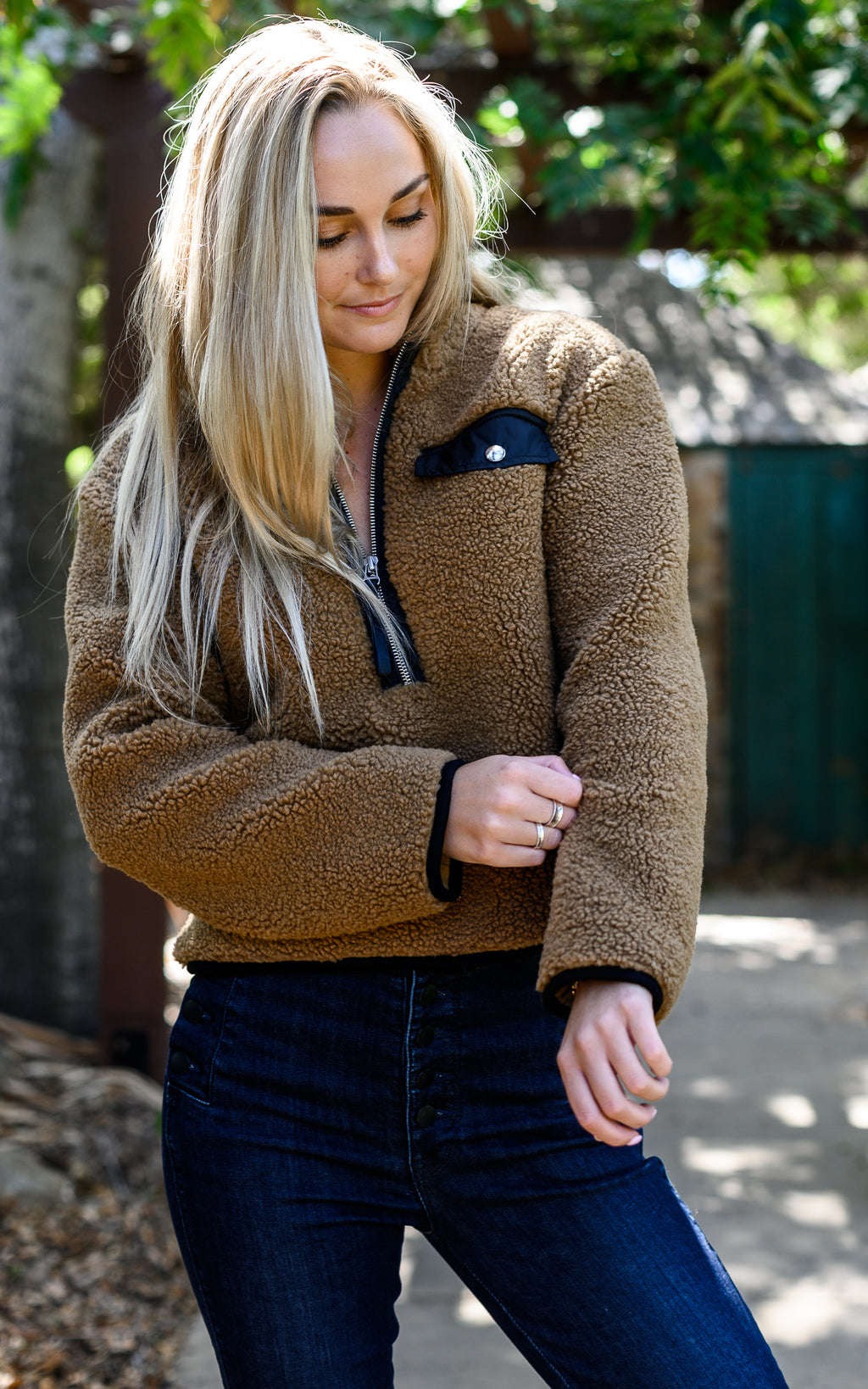 Zoey Fuzzy Pullover