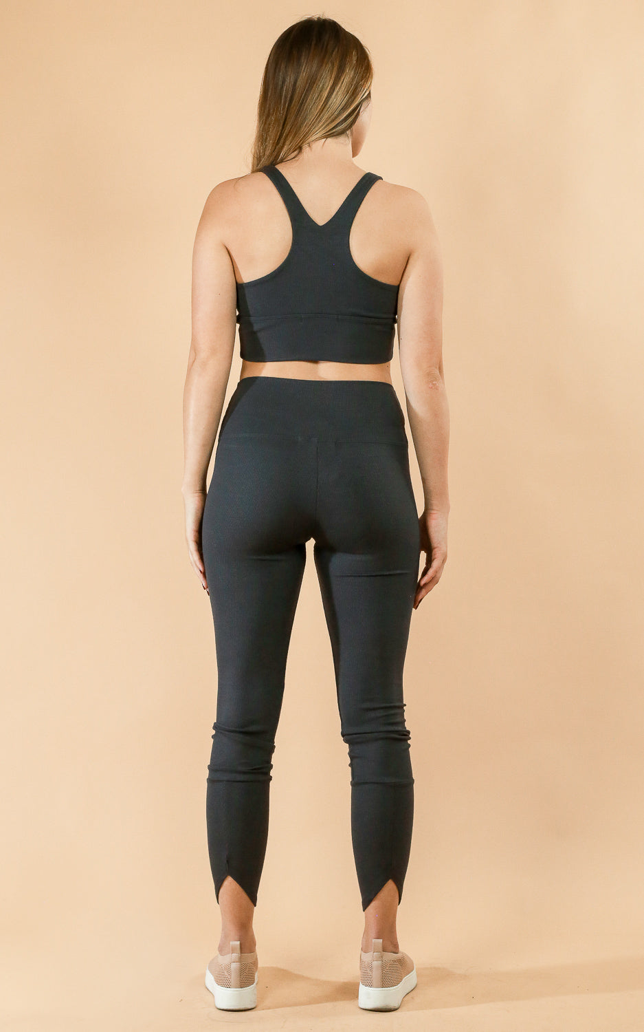 LIft Legging Charoal Rib