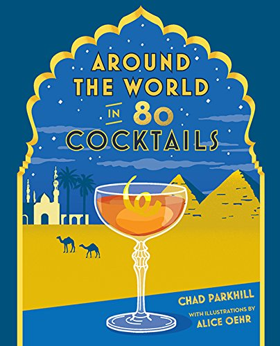 Around the World in 80 Cocktails - Whiskey & Leather