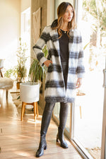 Charlie Plaid Coat