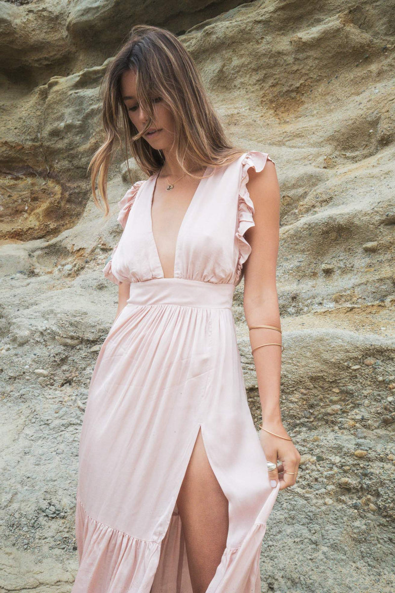 The Jessie Midi in Rose