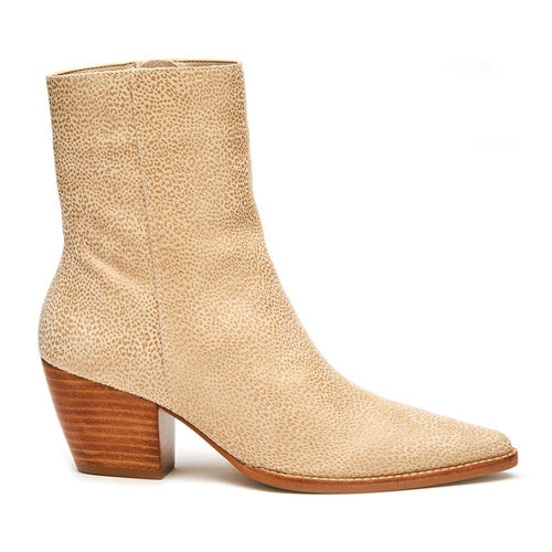 Caty Boot Ivory Leopard
